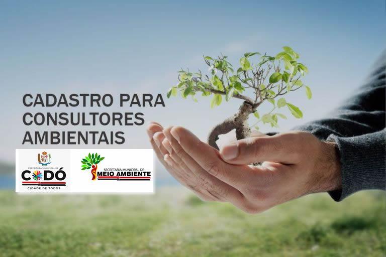 Secretaria de Meio Ambiente realiza cadastro para consultores ambientais