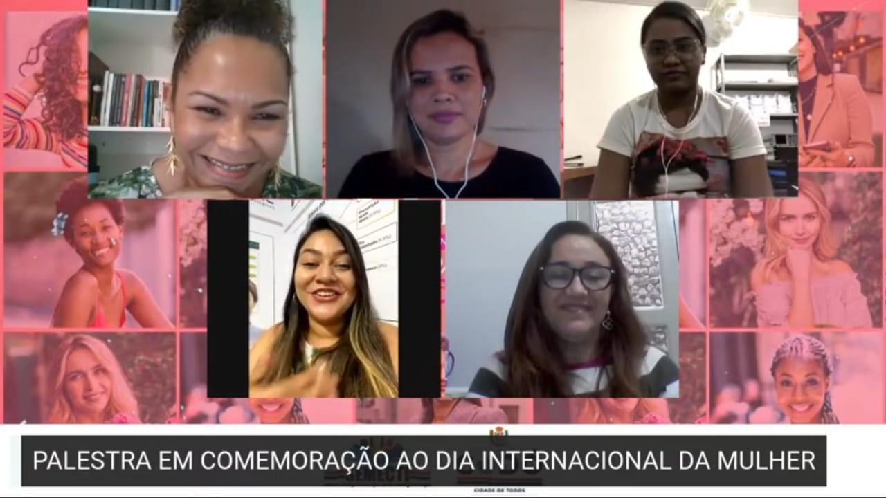08 DE MARÇO: SEMECTI HOMENAGEIA AS MULHERES CODOENSES COM PALESTRA ESPECIAL AO PÚBLICO FEMININO.