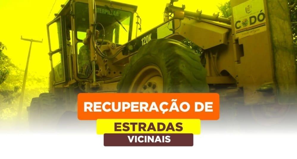 Secretaria de Infraestrutura realiza recuperação de estradas vicinais em Codó