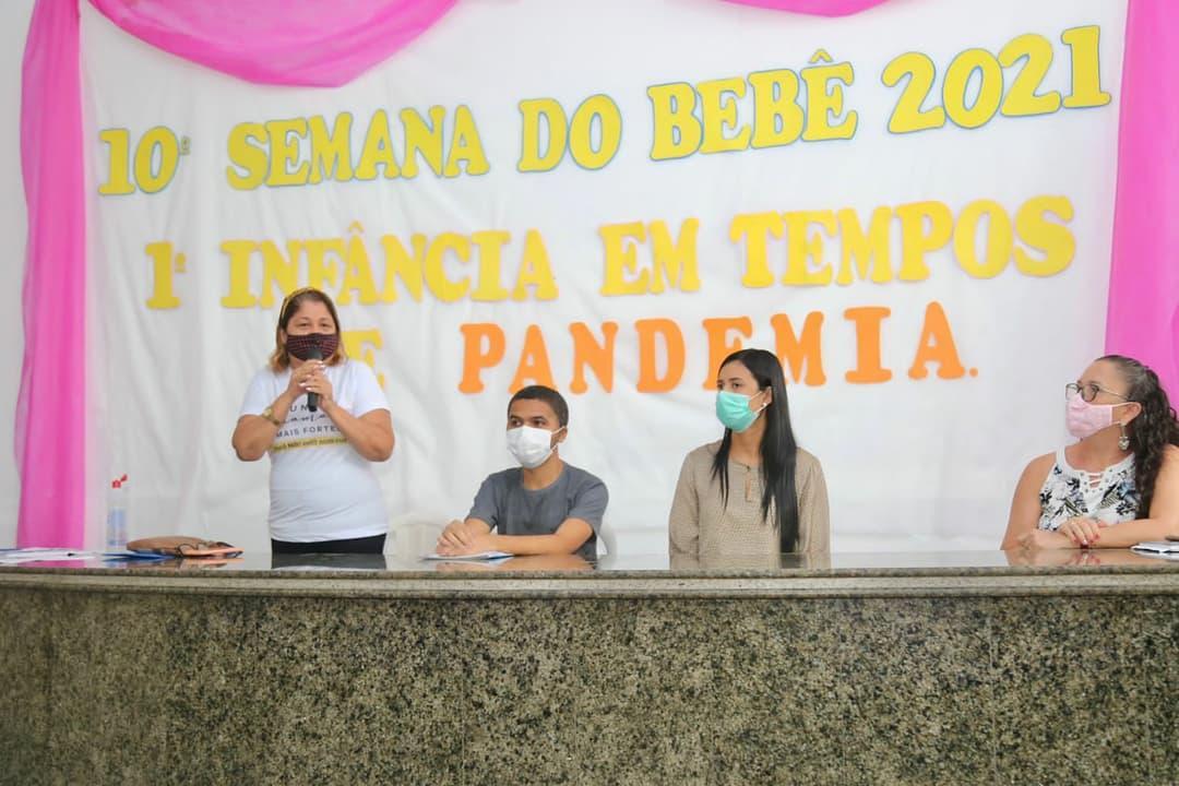 Solenidade encerra a 10ª Semana Municipal do Bebê