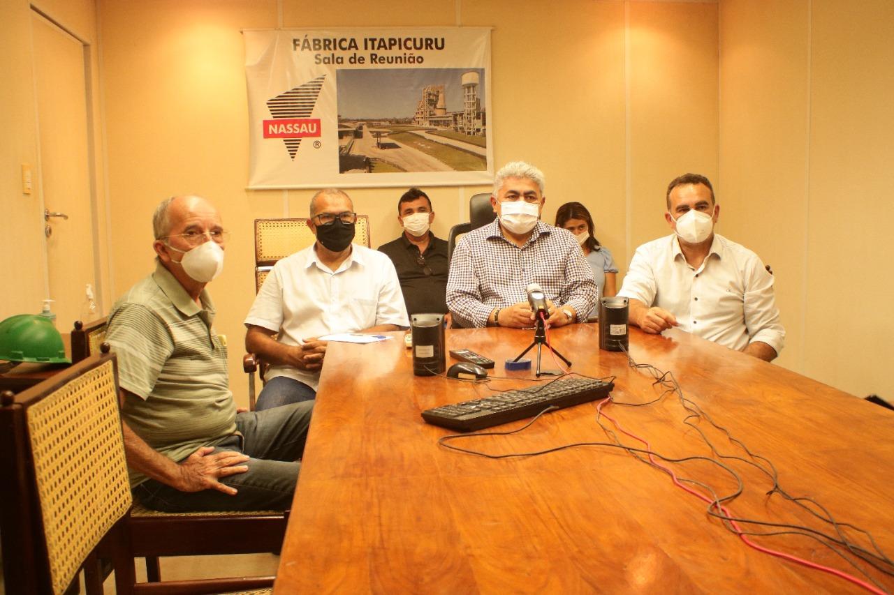 Prefeitura firma parceria com Fábrica de Cimento NASSAU para geração de empregos em Codó