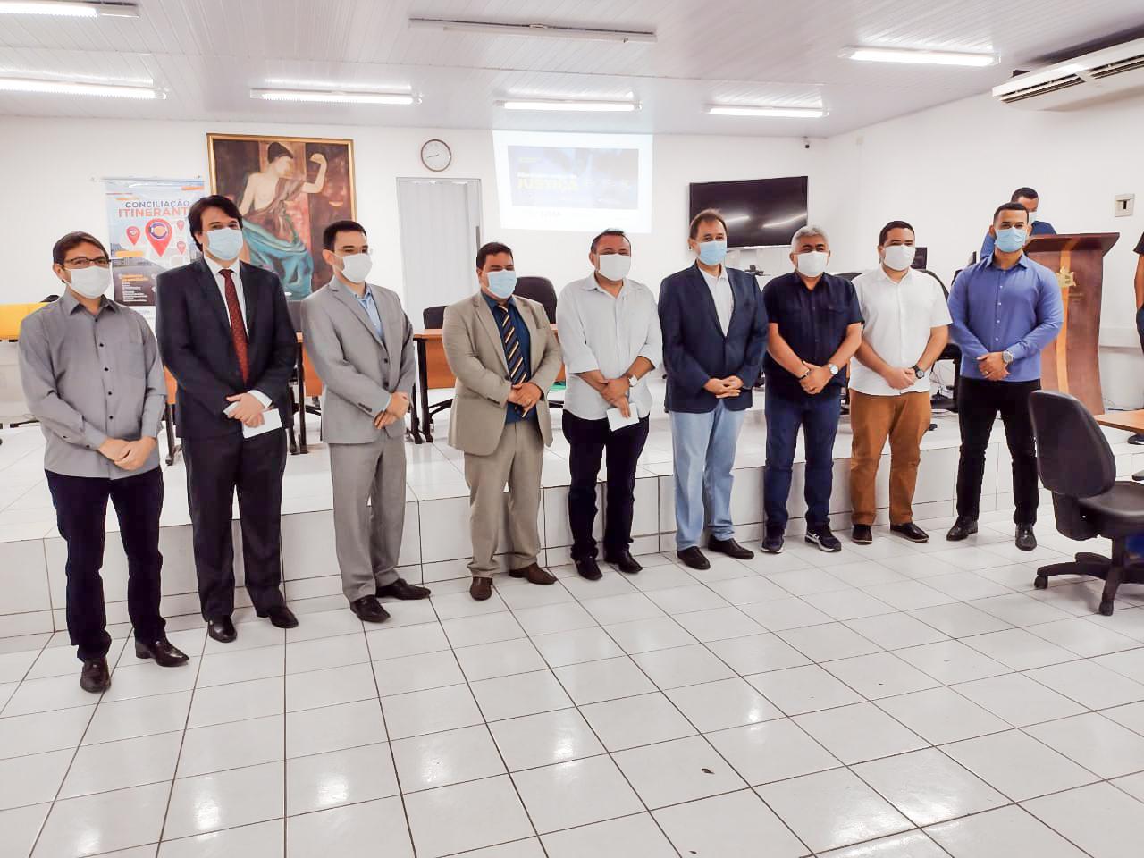 """Selo de Reconhecimento """"Município Amigo da Justiça do Maranhão"""" é lançado em Codó"""