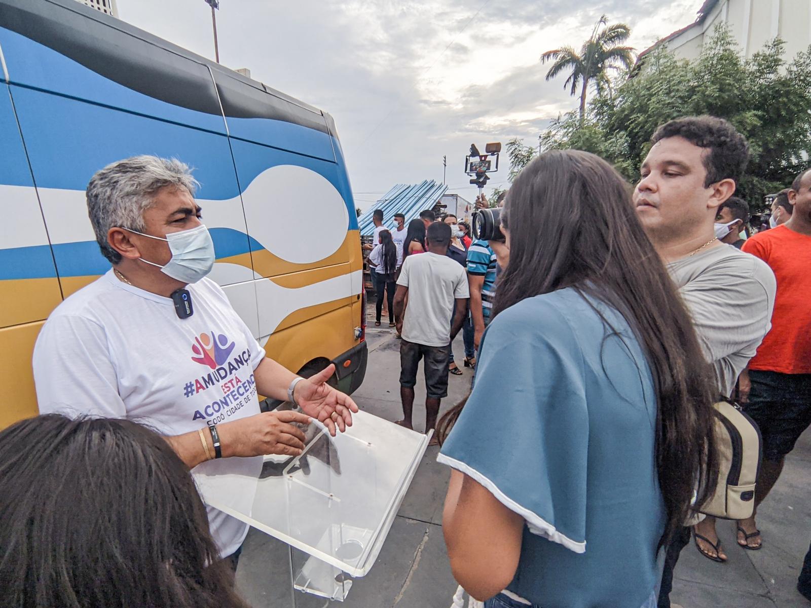 Governador entrega diversos benefícios e anuncia obras importantes para Codó, em visita ao município