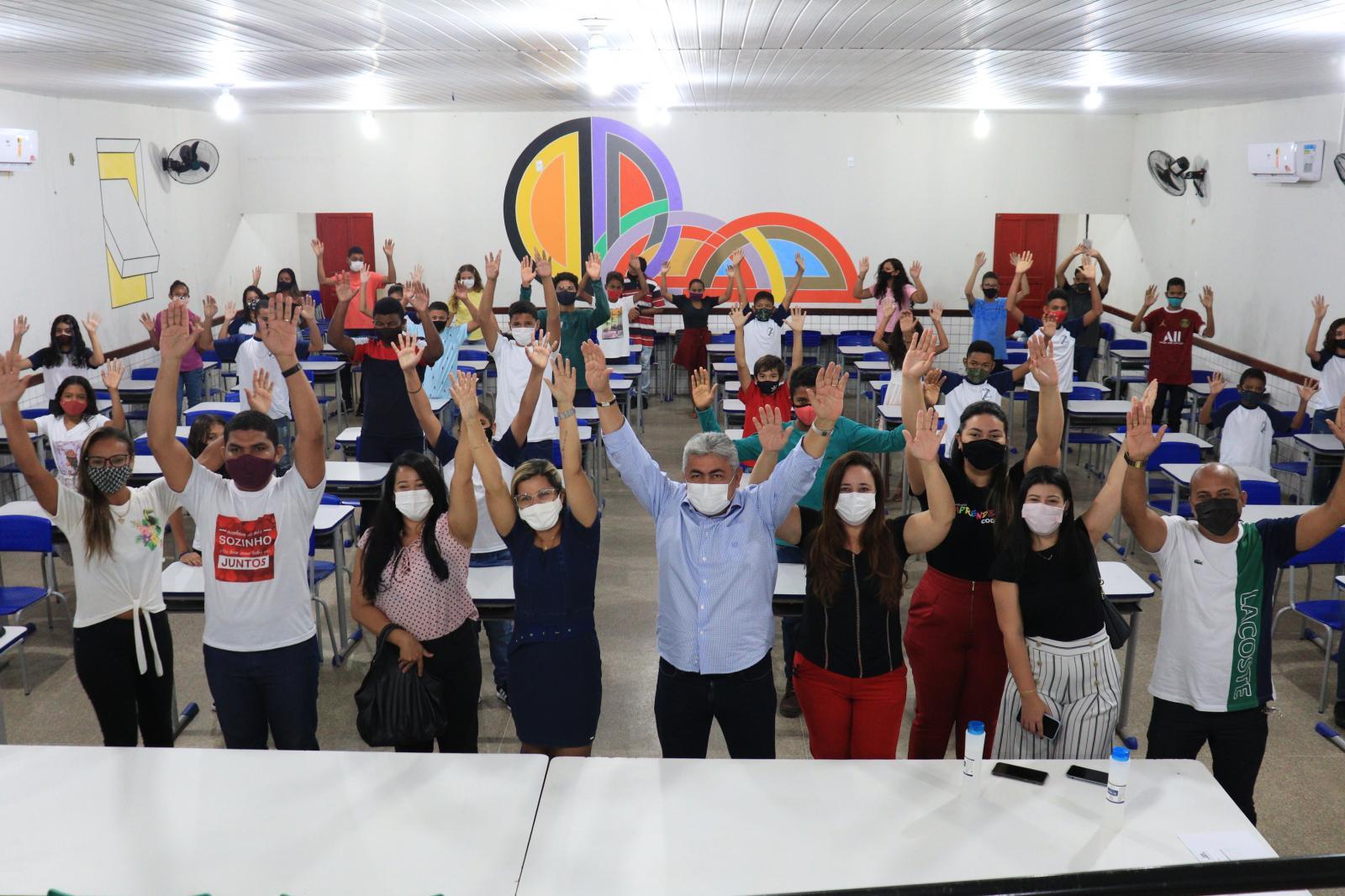 Plano de retorno às aulas presenciais é iniciado pela prefeitura de Codó