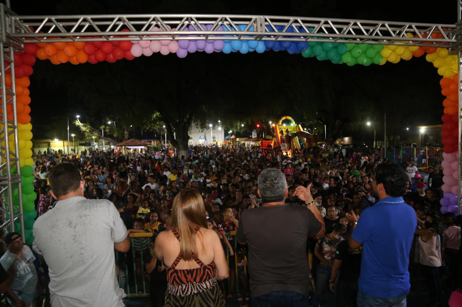 Prefeitura de Codó realiza festa em comemoração ao Dia das crianças